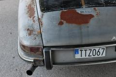 Porsche-912-Rear-from-above-rust-patina