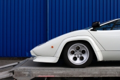 LAmborghini-Countach-Front-Left-White
