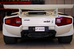 LAmborghini-Countach-White-Behind-GArage