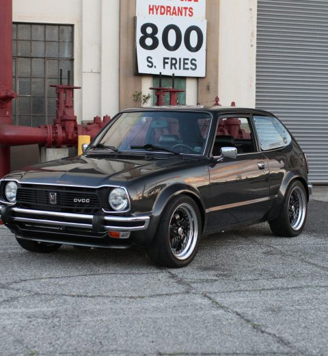 Honda Civic Cvcc 1978 from front left side