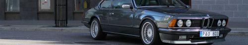 BMW 635 CSi Front Page