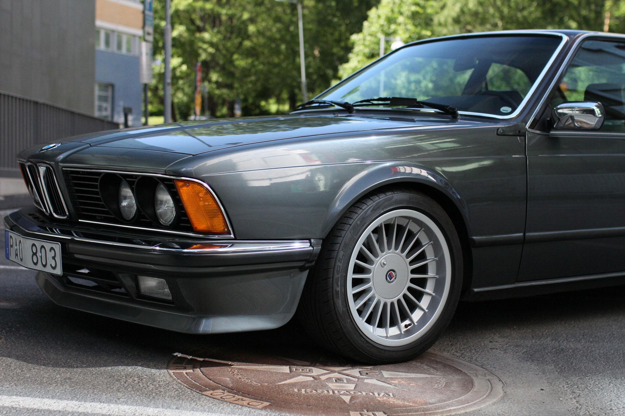 Alpine 17´fälgar på en BMW - BMW 635 CSi
