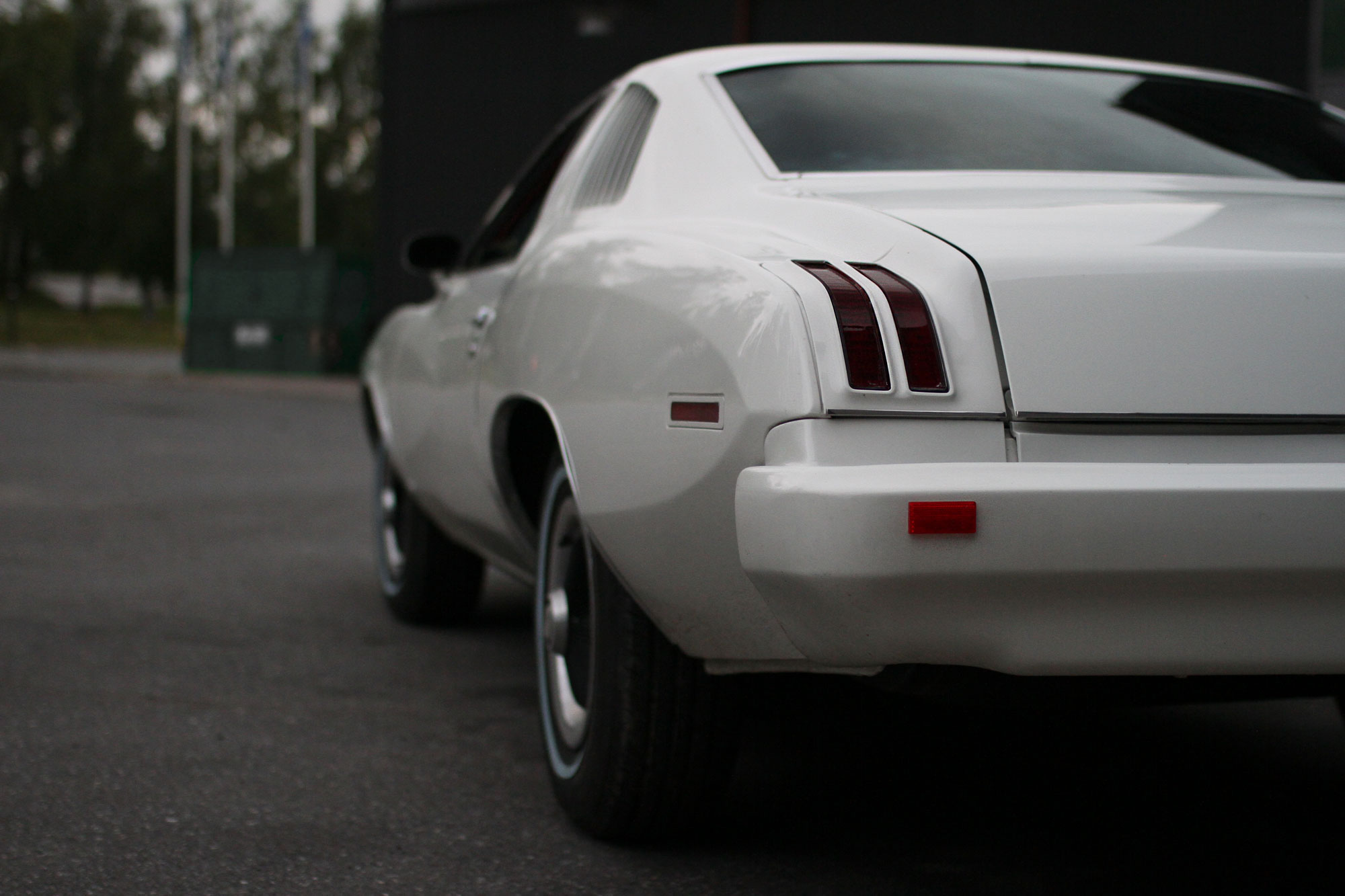 Rear of a Grand Am