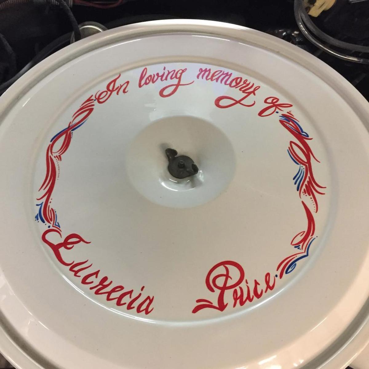 Lucretia Price memory box