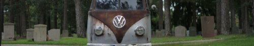 Patina Kleinbus 1957 from death