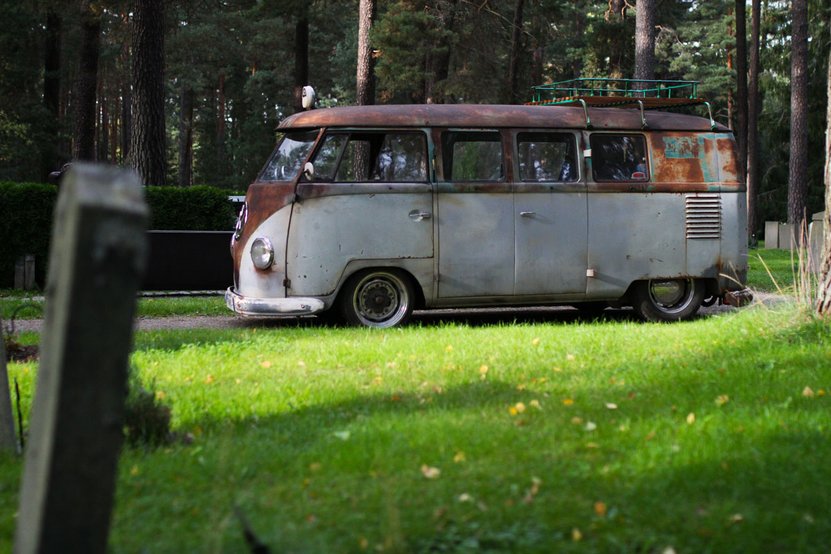 Kleinbus from the left - 1957