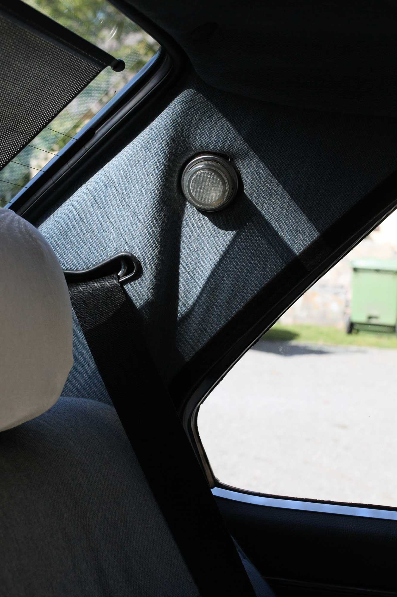 backseat lamp on a fiat argenta