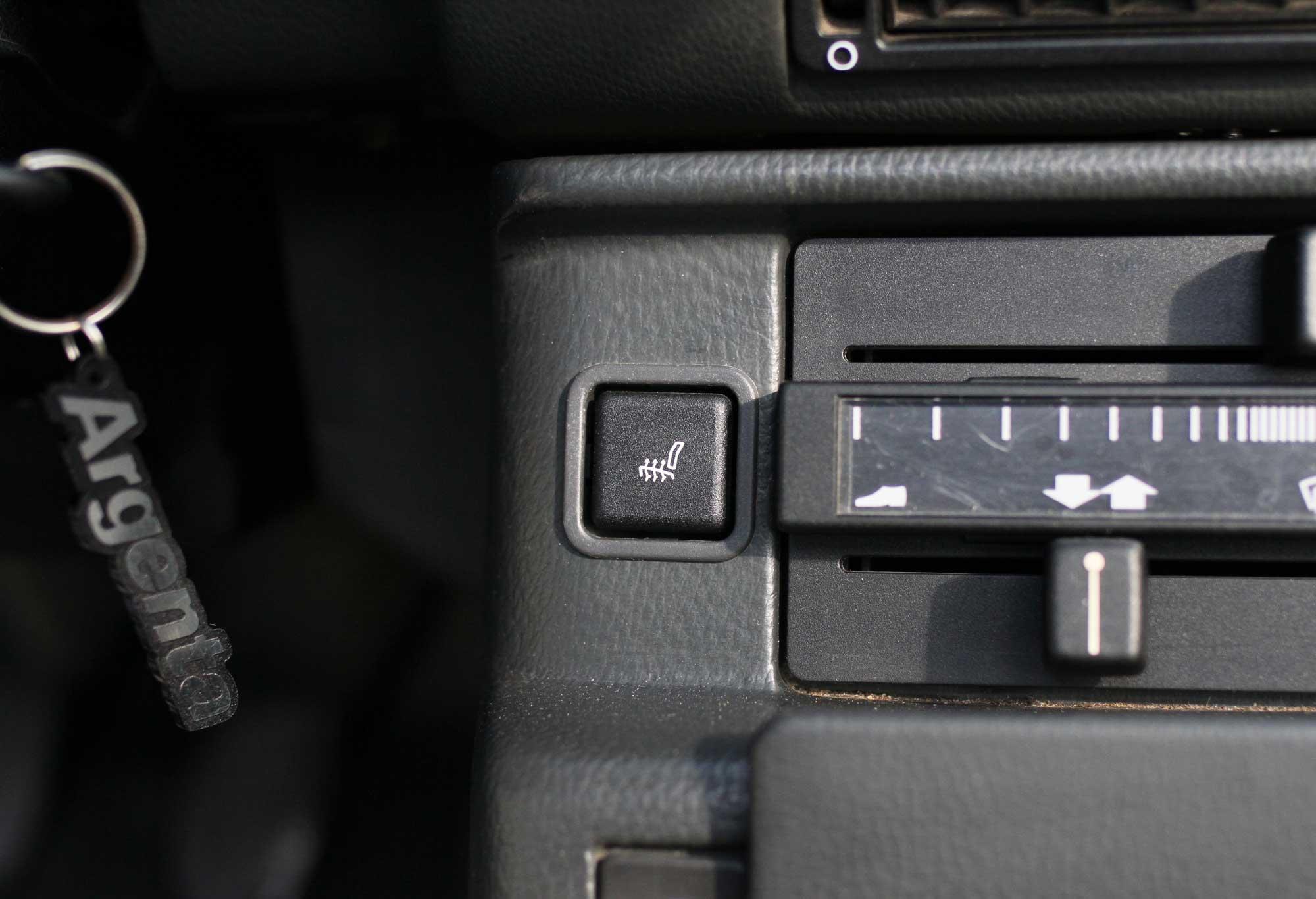 seat heater in a fiat