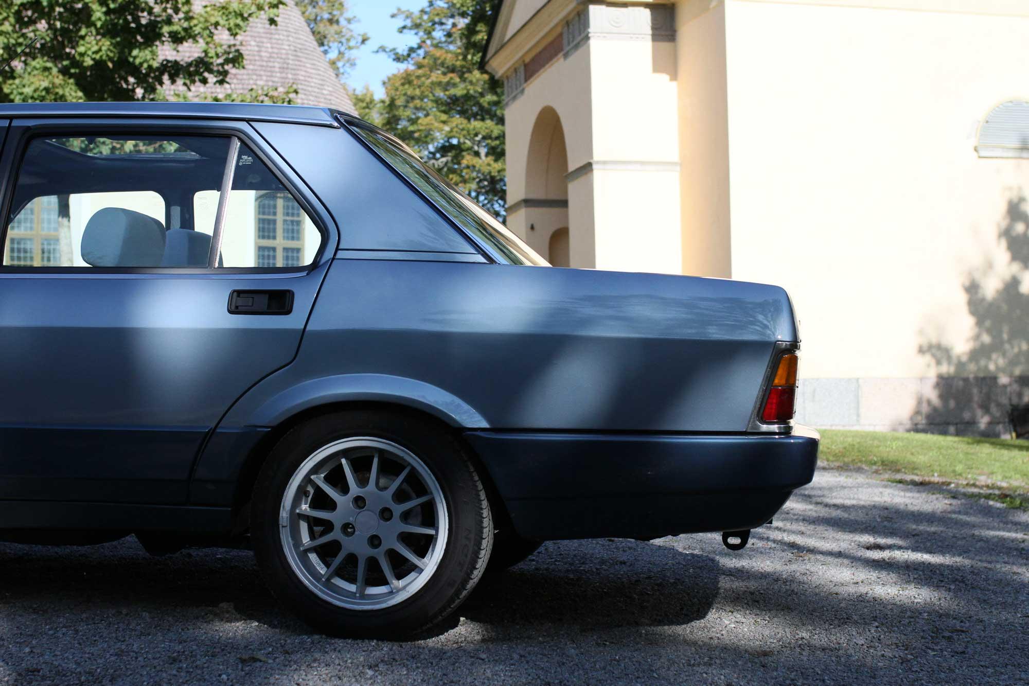 Fiat ARgenta profile back