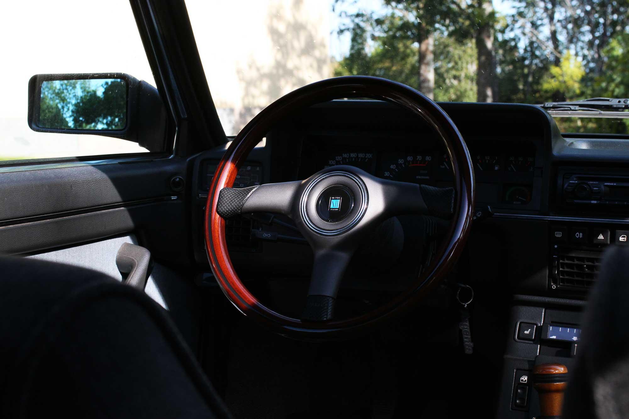 Nardi steering wheel in a Argenta