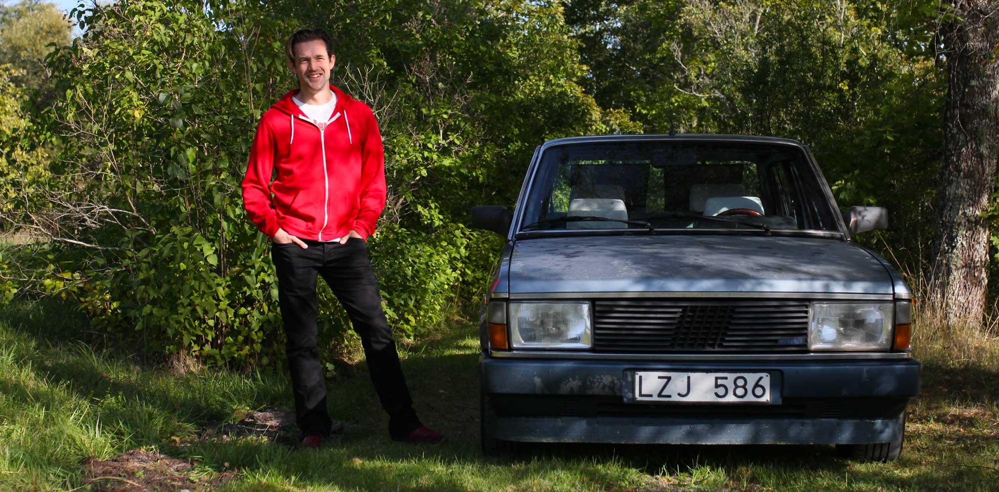 Per Eldh and his fantastic FIAT ARgenta