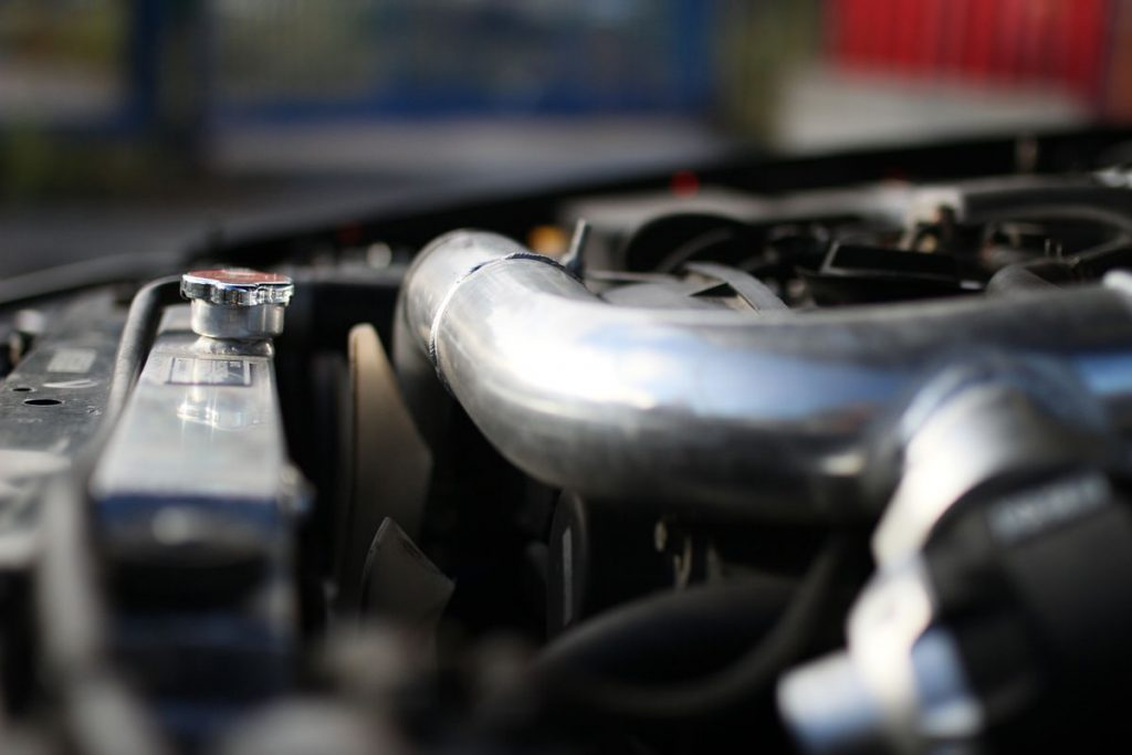 Cooler of a Nissan Skyline R34
