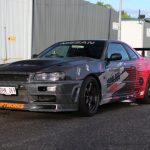 Nissan Skyline R34 Front left side
