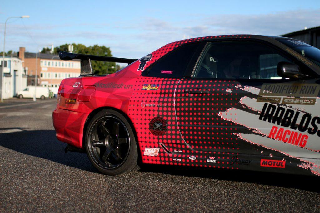 Nissan Skyline R34 - backend
