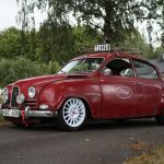 saab 96 from 1964 red