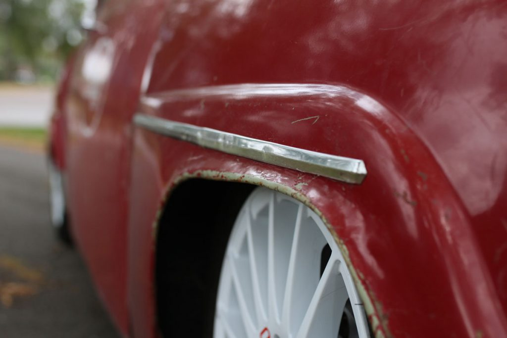 saab 96 front right side fender