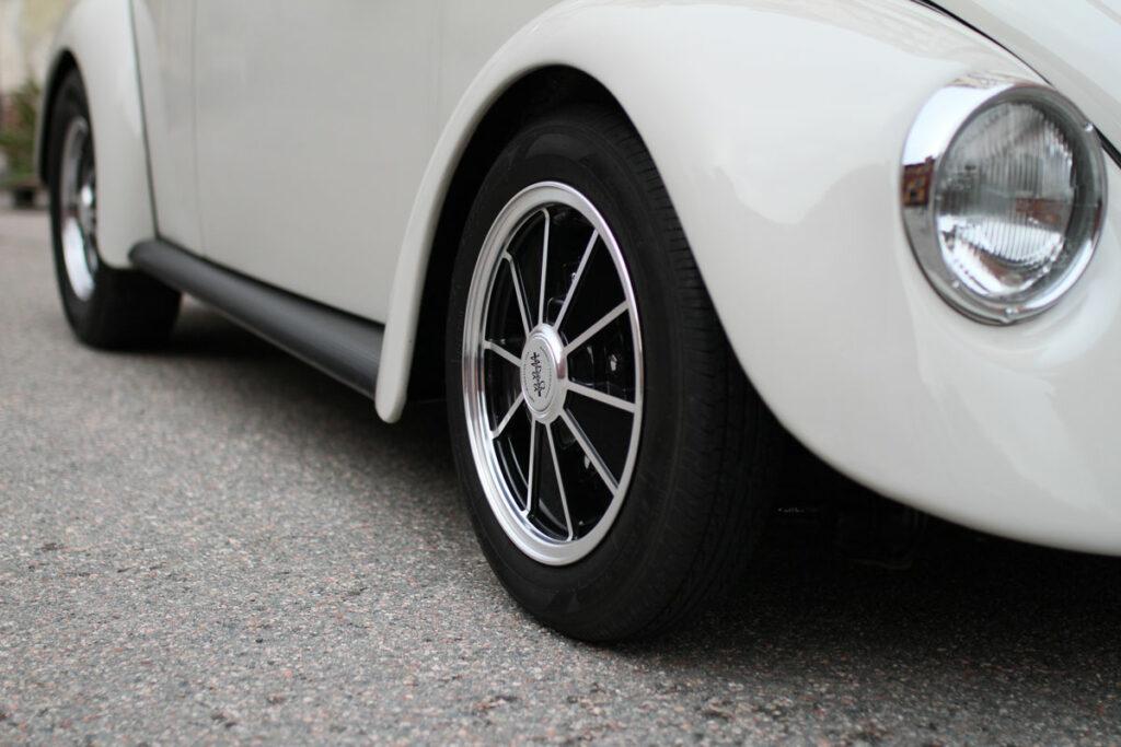 BRM rims on cali look beetle 1967