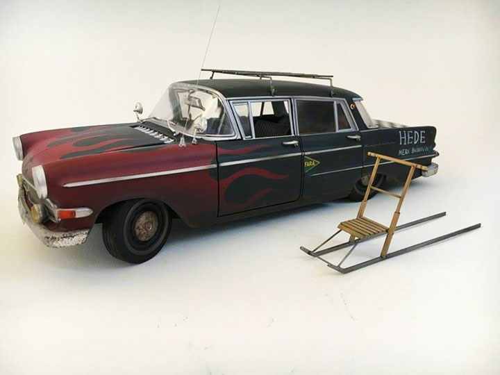 Opel-Kapitan-Model-Revell-profil