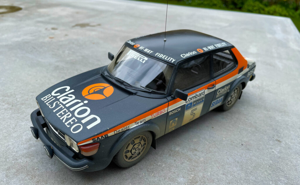 Rally-SAAB-99-Tecnomodel-Scale-model