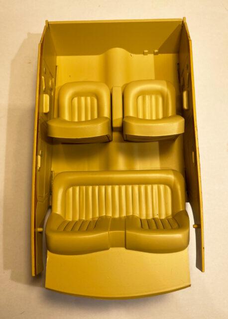Rolls Royce Silver Spure interior original Scale model MCG