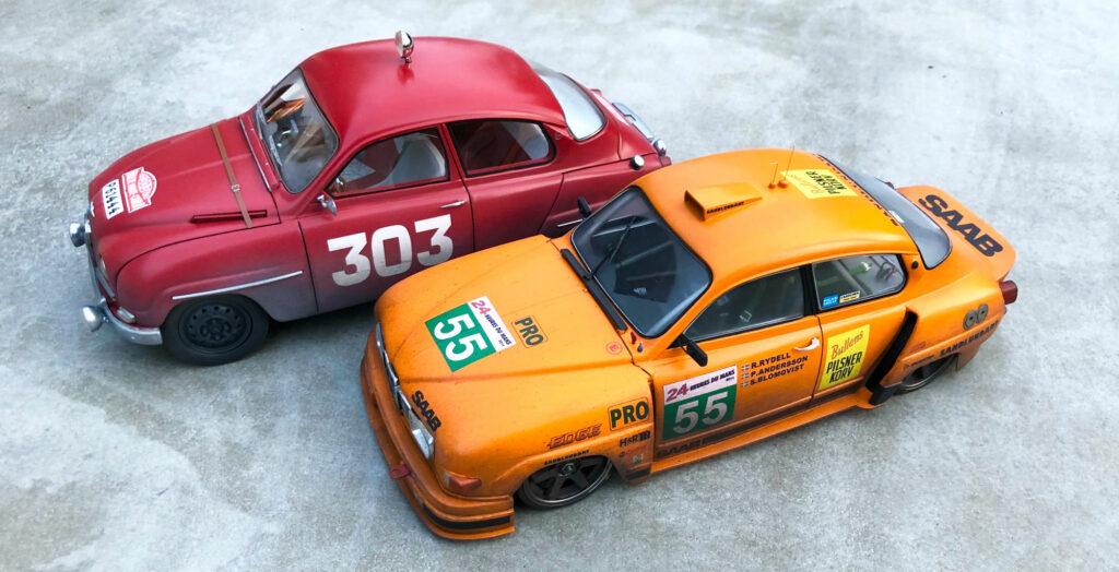 Saab-96-Monte-Carlo-Rally-front-LeMans-orange