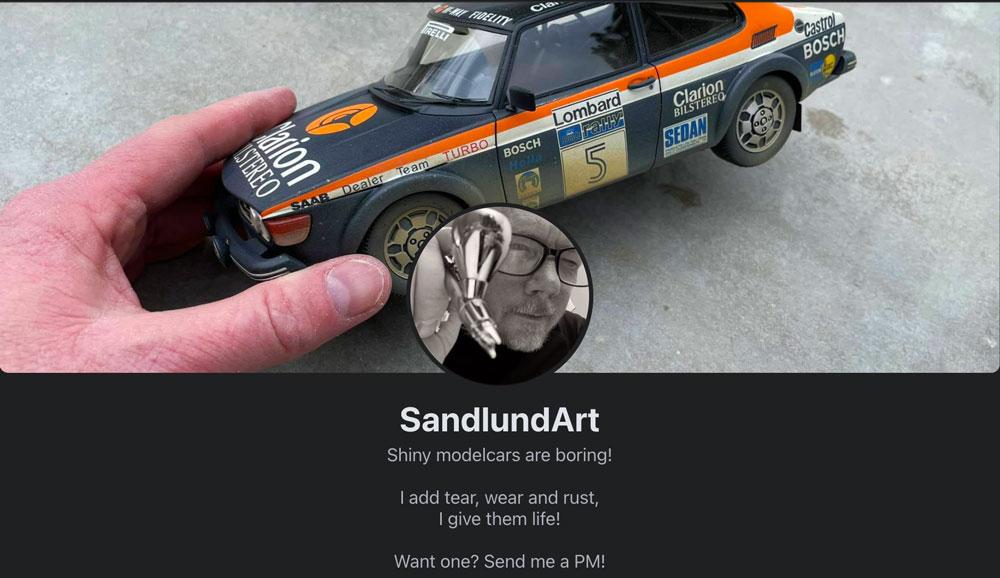 Sandlund Art Facebook